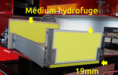 Medium hydrofuge Guadeloupe